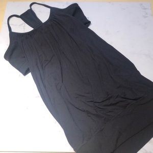 LULULEMON no limits tank with built in bra